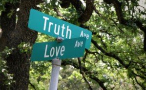 The intersection of love and truth! (Image found at website www.backinskinnyjeans.com; no photo credit listed.)